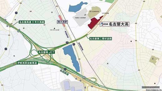 20191107esr3 520x293 - ESR/名古屋市で物流施設竣工、11月27・28日に内覧会開催