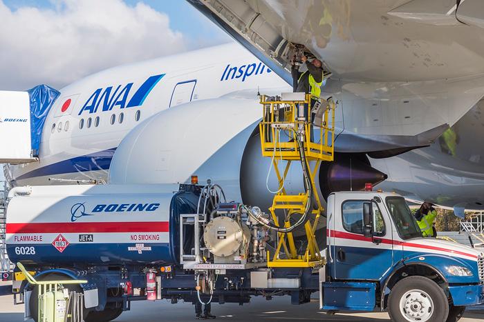 20191112ana2 - ANA/排ガス原料の燃料でフライト、燃料製造から給油までSC構築