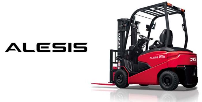 ALESIS(アレシス) 写真はFB25P-80-300(2,500kg 積み、3.0m 揚高マスト装着車)