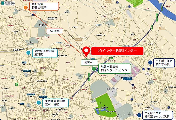 20191115daiwab2 - 大和物流/千葉県柏市の新たな物流施設が満床で竣工
