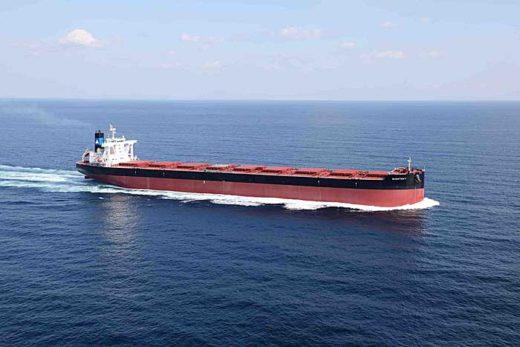 20191119namura 520x347 - 名村造船所/18.3トン型ばら積み船「NIGHTSKY」引渡