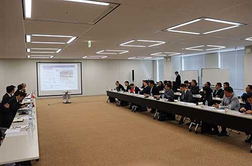 20191119nittsu1 1 - 日通/本社に中国訪日研修団来訪、中国での事業展開等説明