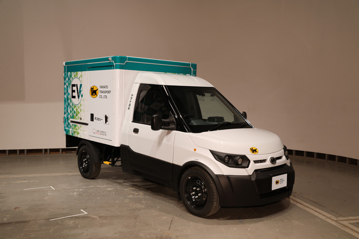 20191119yamato1 - ヤマト運輸/日本初登場、宅配に特化したEV小型商用車500台導入