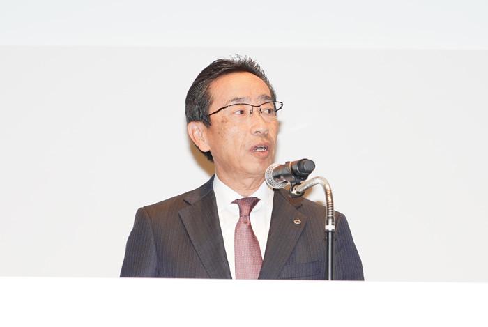 ヤマト運輸の栗栖利蔵社長