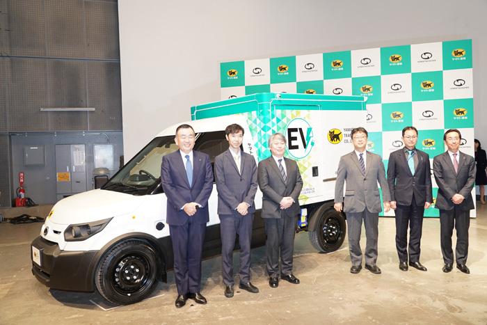 20191119yamato11 - ヤマト運輸/日本初登場、宅配に特化したEV小型商用車500台導入