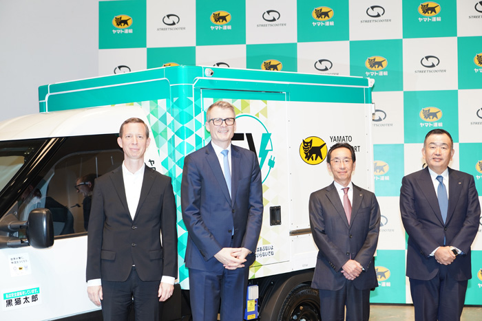 20191119yamato12 - ヤマト運輸/日本初登場、宅配に特化したEV小型商用車500台導入