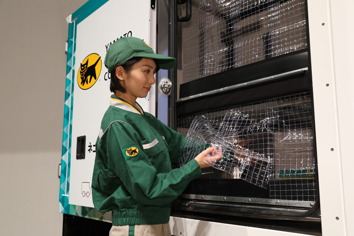 20191119yamato6 - ヤマト運輸/日本初登場、宅配に特化したEV小型商用車500台導入