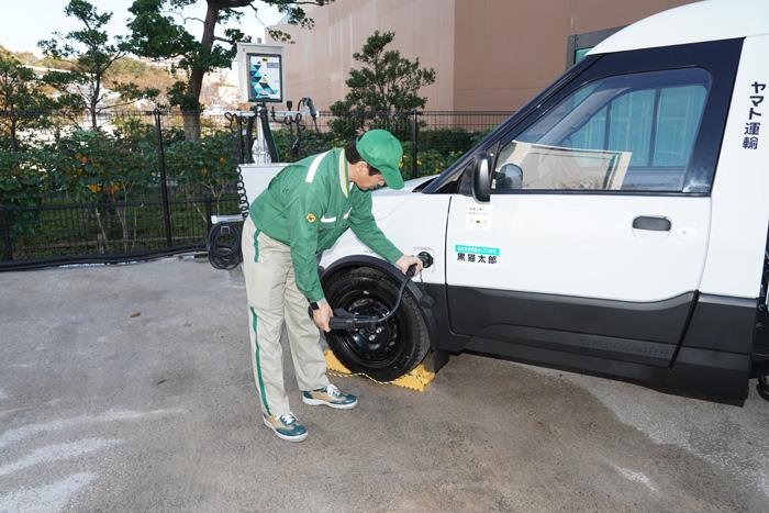 20191119yamato7 - ヤマト運輸/日本初登場、宅配に特化したEV小型商用車500台導入