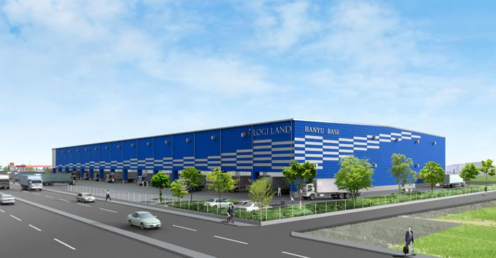 20191120logiland - ロジランド/埼玉県羽生市で2万m2のマルチ型物流施設を開発