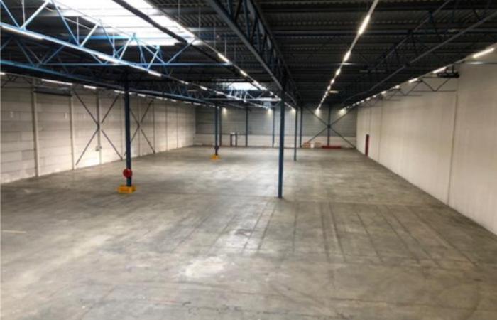 倉庫部分の延床面積は2500m2