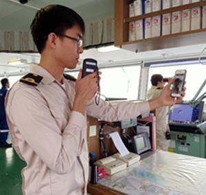 20191128kawasaki2 - 川崎汽船/スマホ連動の船上アルコール検知システムを運用開始