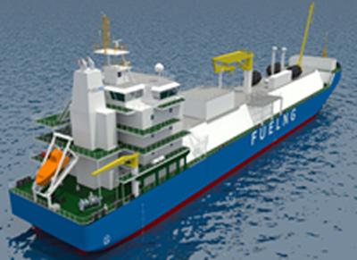 20191128kawasaki31 - 川崎汽船/シンガポール初LNG燃料供給船の船舶管理契約を締結