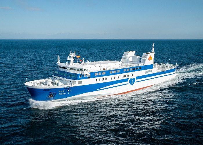 サノヤス造船/2800総トン型旅客船兼自動車航送船を竣工 | 物流 ...