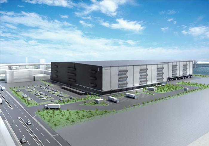 20191204nittetsue - 日鉄エンジ/尼崎市の物流施設に能力の高い耐震部材を採用