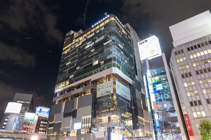 10月に竣工した渋谷フクラス