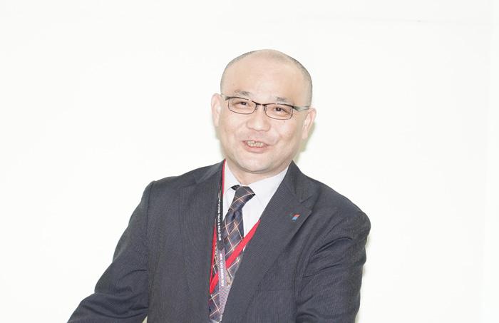 日立物流経営戦略本部の高岡勲副本部長
