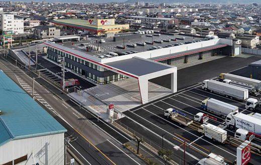 20191211hino 520x330 - 愛媛日野自動車/本社・整備工場をリニューアル
