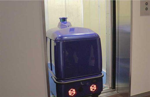 20191211zmp 520x336 - ZMP/宅配ロボットCarriRo Deliがエレベーターと連携