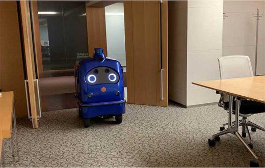 20191211zmp1 520x330 - ZMP/宅配ロボットCarriRo Deliがエレベーターと連携