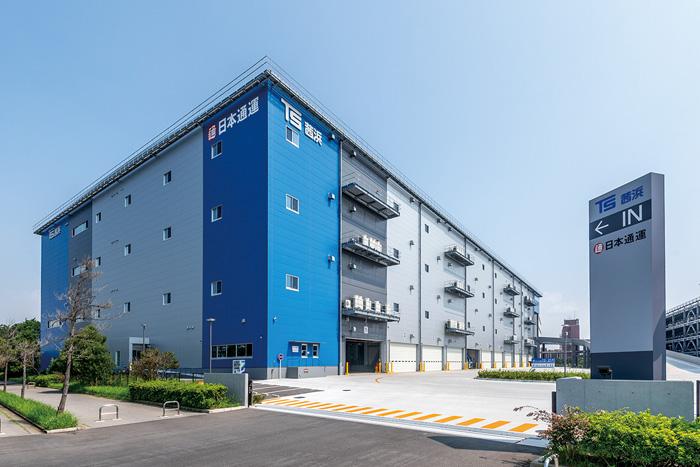 東京倉庫の外観