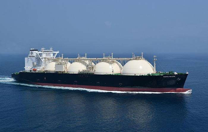 LNG(液化天然ガス)運搬船マーベル ペリカン