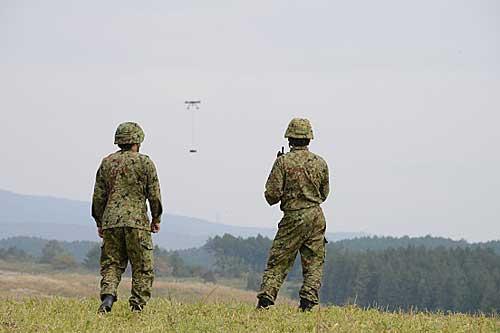 20191213rikuji2 - 陸上自衛隊/大型ドローンで20kg超の物資輸送