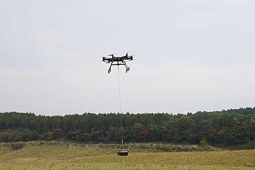 20191213rikuji4 - 陸上自衛隊/大型ドローンで20kg超の物資輸送