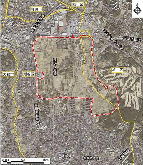 20191213yokohama - 横浜市/瀬谷区に15万m2の物流用地、先端物流拠点形成へ