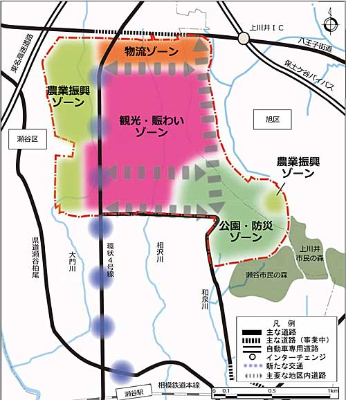 20191213yokohama1 - 横浜市/瀬谷区に15万m2の物流用地、先端物流拠点形成へ