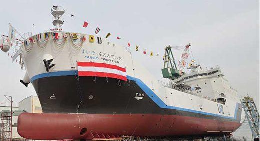 20191219kline 520x283 - 川崎汽船/世界初液化水素運搬船の実証試験に運航支援で協力