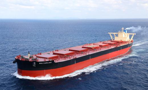 20191227ns 520x316 - NSユナイテッド海運/40万重量トン型鉱石運搬船竣工