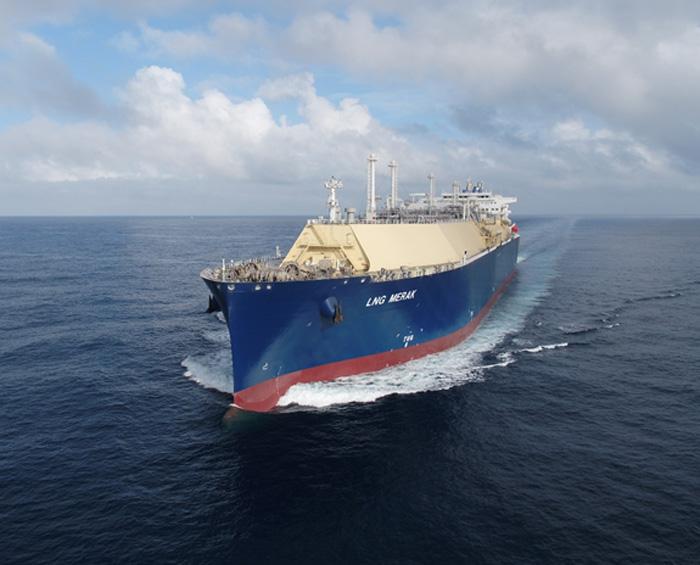 20200109mol2 - 商船三井/ロシア・ヤマルLNGプロジェクト向け新造LNG船命名