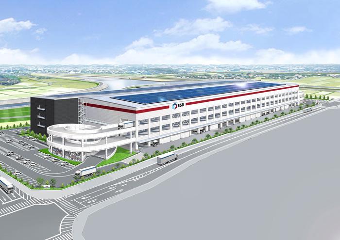 20200110esr1 - ESR/三重県桑名郡木曽崎町に15.3万m2の物流施設を開発