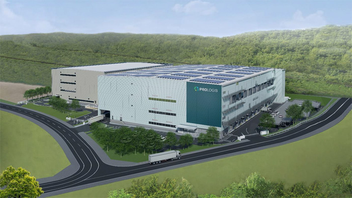 プロロジスパーク神戸5の完成予想パース