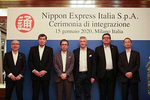 20200116nittsu - 日通/イタリア法人3社統合、欧州最大のグループ企業に