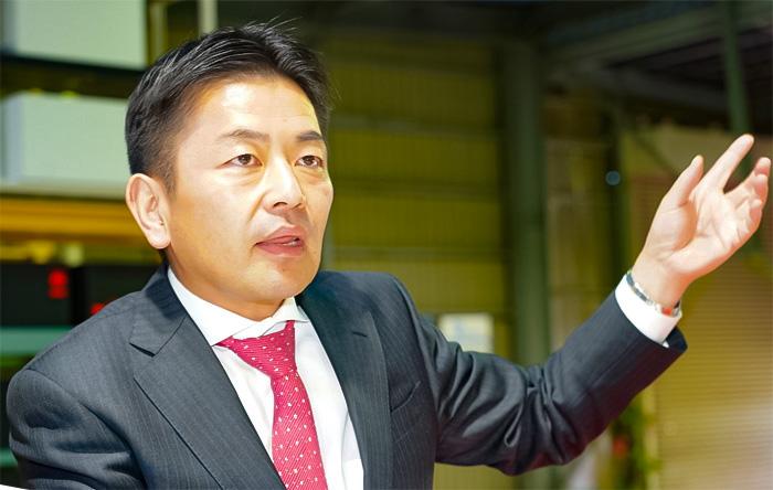 両社は同じ考えを持ち、同じ香りがしたと語る斉藤社長