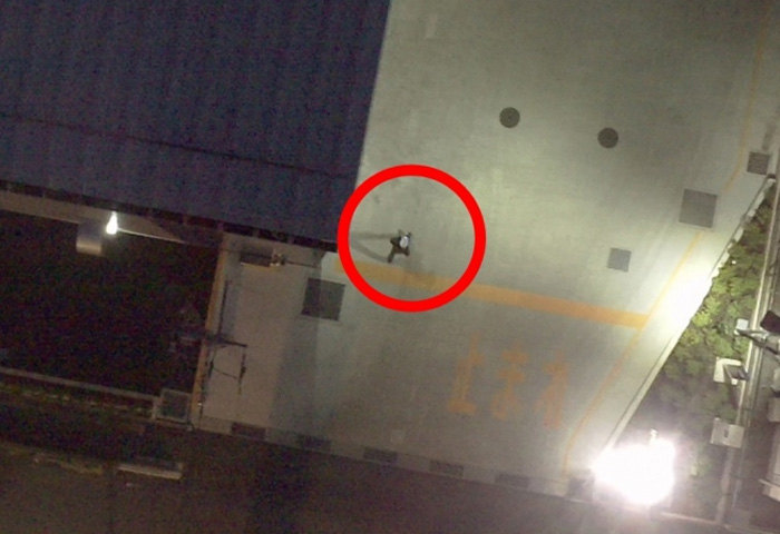 夜間飛行の検証