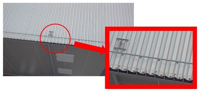 屋根・壁面点検の検証