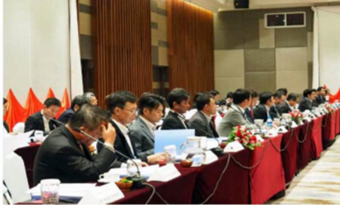 日ミャンマー物流政策対話の様子(日本側)