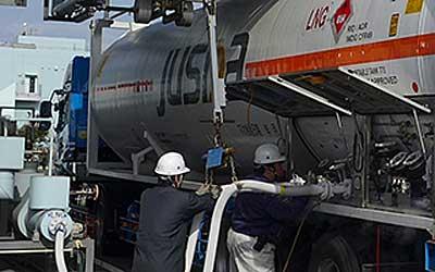 20200127saibu2 - 西部ガス/北九州港から中国へLNGをコンテナ輸送