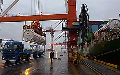 20200127saibu3 - 西部ガス/北九州港から中国へLNGをコンテナ輸送