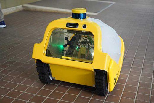 20200130amoeba3 520x347 - Amoeba Energy、日本郵便/ロボットによる連続置き配に成功