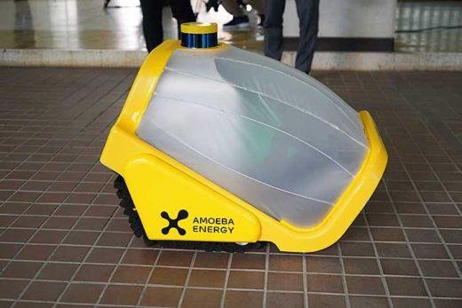 20200130amoeba4 520x347 - Amoeba Energy、日本郵便/ロボットによる連続置き配に成功