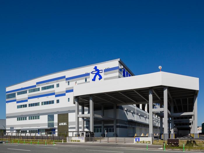 福岡物流センター(ASKUL Logi PARK 福岡)外観