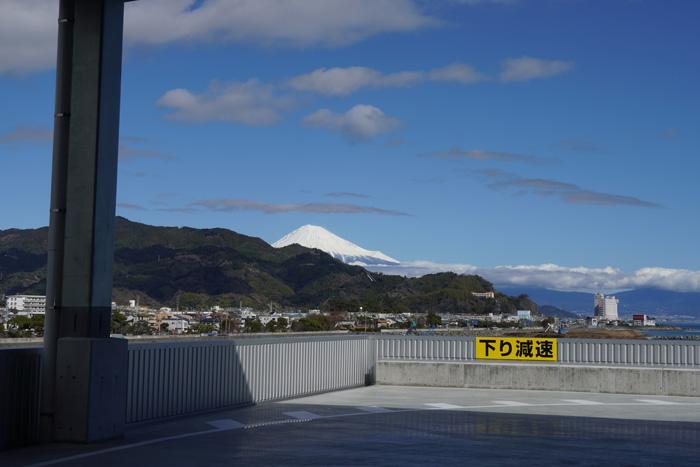 建物内部からは富士山も見える