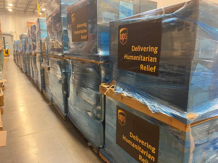 20200203ups1 - UPS/中国へ200万枚の医療マスク等支援物資の輸送を無償で提供