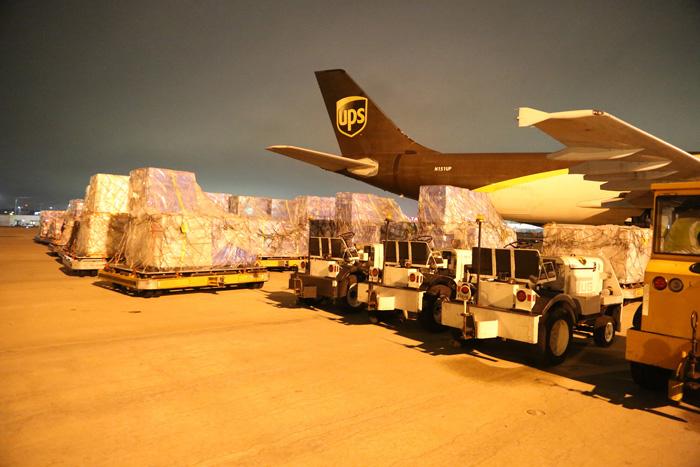 20200203ups2 - UPS/中国へ200万枚の医療マスク等支援物資の輸送を無償で提供