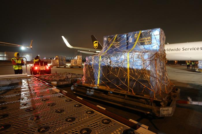 20200203ups3 - UPS/中国へ200万枚の医療マスク等支援物資の輸送を無償で提供