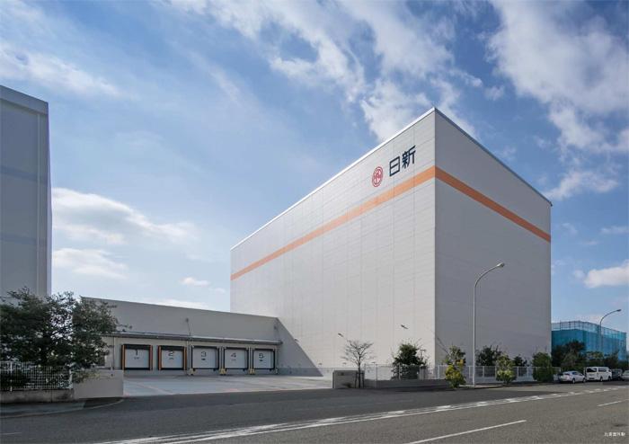 20200204nisshin - 日新/神戸市灘区摩耶埠頭に冷凍自動ラック倉庫を竣工