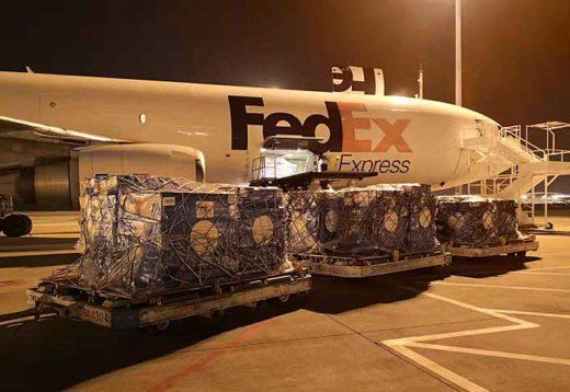 20200205fedex 520x358 - フェデックス/新型肺炎対策の救援物資が中国に到着